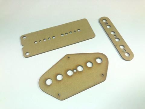 Telecaster-tyylisen kitaran kaulamikin prespaanisarja