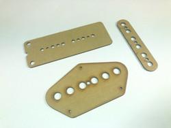 Stratocaster-tyylisen kitaran mikin prespaanisarja