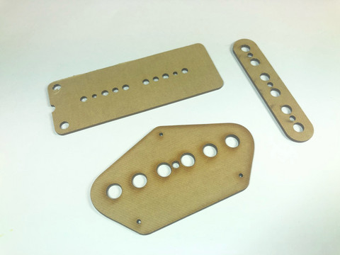 Telecaster-tyylisen kitaran tallamikin prespaanisarja