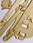 Jazzbass-tyylisen sähköbasson sabluunasarja