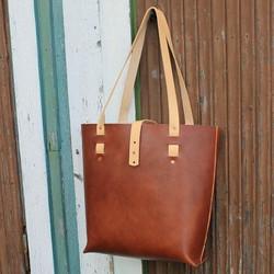 Tina's Tote Bag, ruskea