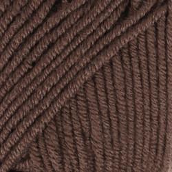 Merino Extra Fine tummanruskea uni colour 09