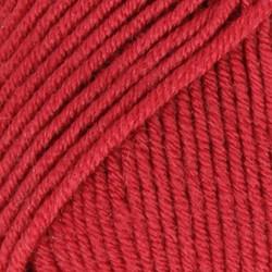 Merino Extra Fine punainen uni colour 11