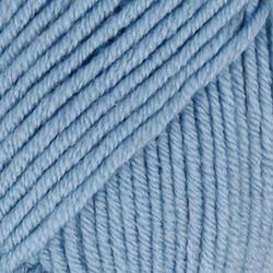 Merino Extra Fine vaalea harmaansininen uni colour 19
