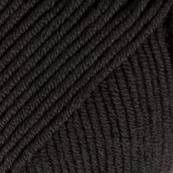 Merino Extra Fine musta uni colour 02