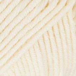 Big Merino luonnonvalkoinen uni colour 01