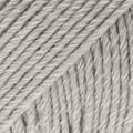 Cotton Merino vaaleanharmaa uni colour 20