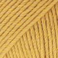 Cotton Merino sinapinkeltainen uni colour 15