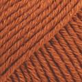 Cotton Merino ruosteenpunainen uni colour 25
