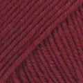 Cotton Merino viininpunainen uni colour 07