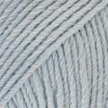 Cotton Merino jäänsininen uni colour 09