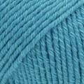 Cotton Merino turkoosi uni colour 24