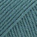 Cotton Merino myrskynsininen uni colour 26