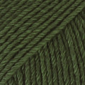 Cotton Merino tummanvihreä uni colour 22