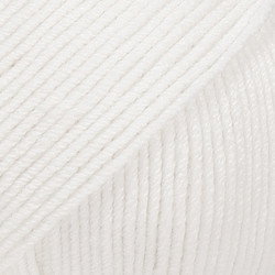 Baby Merino valkoinen uni colour 01
