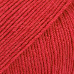 Baby Merino punainen uni colour 16