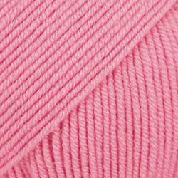 Baby Merino roosa uni colour 07