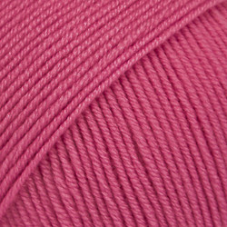 Baby Merino kirsikanpunainen uni colour 08