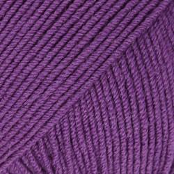 Baby Merino tumma lila uni colour 35