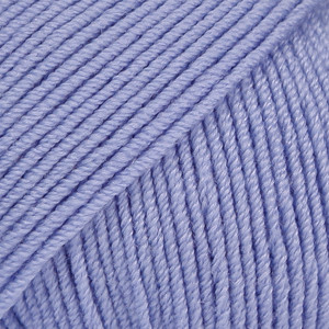 Baby Merino laventeli uni colour 25