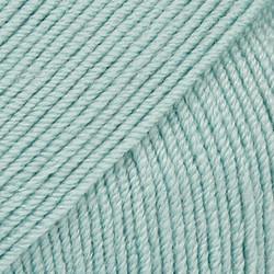 Baby Merino vaalea merenvihreä uni colour 43