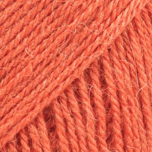 Alpaca oranssi uni colour 2915