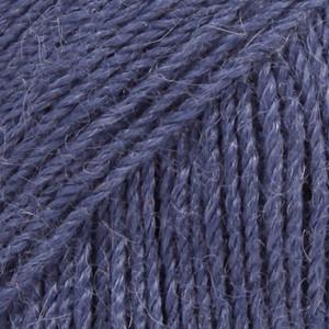 Alpaca laivastonsininen uni colour 6790