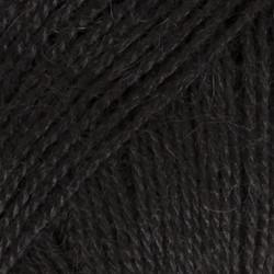 Alpaca musta uni colour 8903