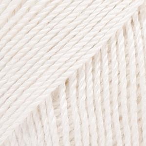 Baby Alpaca Silk valkoinen uni colour 1101