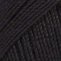 Baby Alpaca Silk musta uni colour 8903