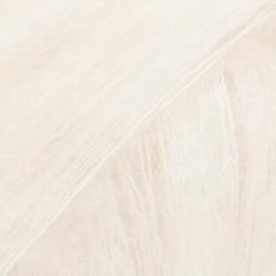 Kid-Silk luonnonvalkoinen uni colour 01