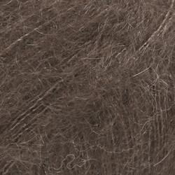 Kid-Silk tummanruskea uni colour 15