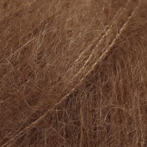 Kid-Silk suklaa uni colour 35