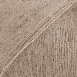Kid-Silk beige uni colour 12