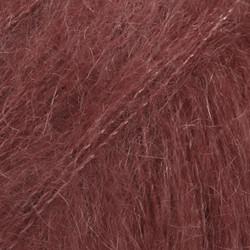 Kid-Silk viininpunainen uni colour 36