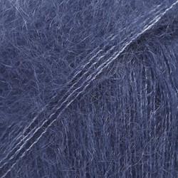 Kid-Silk laivastonsininen uni colour 28