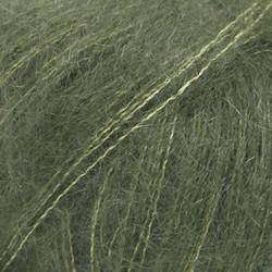Kid-Silk tummanvihreä uni colour 19