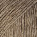 Bomull-Lin ruskea uni colour 05