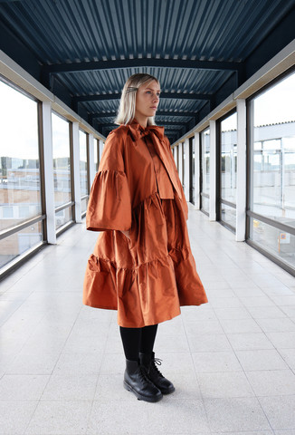 LUSH- DRESS BOW COLLAR, COPPER