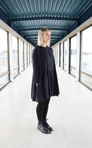 FLIRTY- DRESS, BLACK