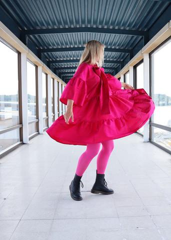 LUSH - SILK DRESS, PINK