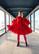 LUSH- DRESS BOW COLLAR, RED