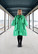 LIMITED EDTION: LUSH- DRESS BOW COLLAR, GLITTER GREEN