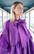 LUSH- DRESS BOW COLLAR, PURPPLE