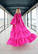 LUSH- GOWN BOW COLLAR, PINK