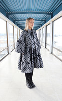 LUSH- DRESS BOW COLLAR, GREY