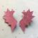WINGS - Earrings,Pink