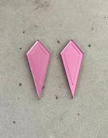 ARROW - earrings, Pink