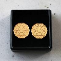 CIRCLE - Earrings, Gold