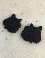 CAT - earring, black